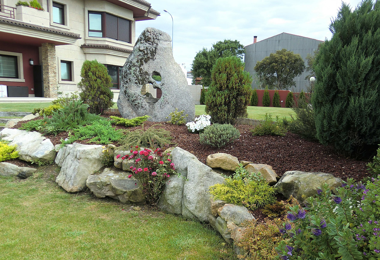 Grupo lij trabajos realizados for Viviendas jardin
